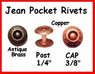 Jean Pocket Rivet