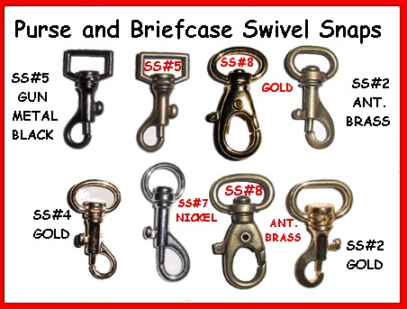 Luggage Swivel Snaps