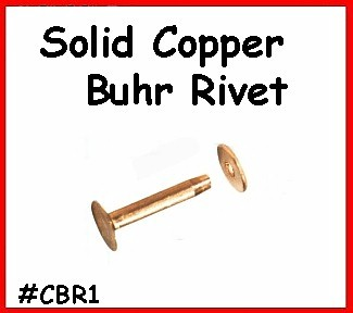 Solid Copper Buhr